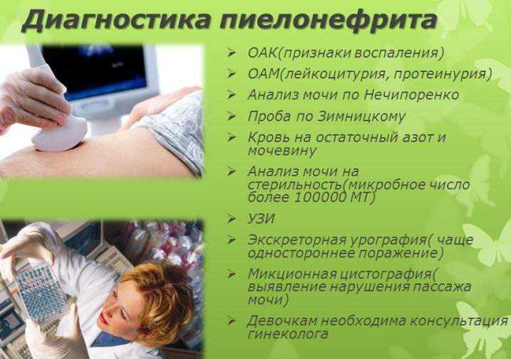 процедуры диагностики