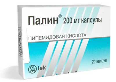 Антибиотики Палин