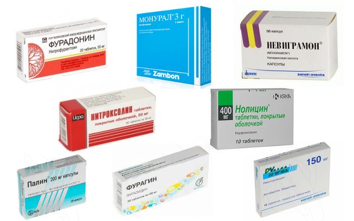 Какие препараты применяют при лечении цистита